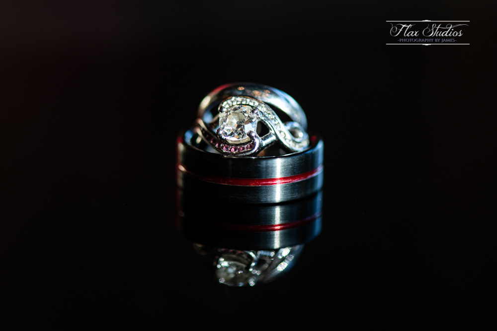 creative wedding ring macro shots