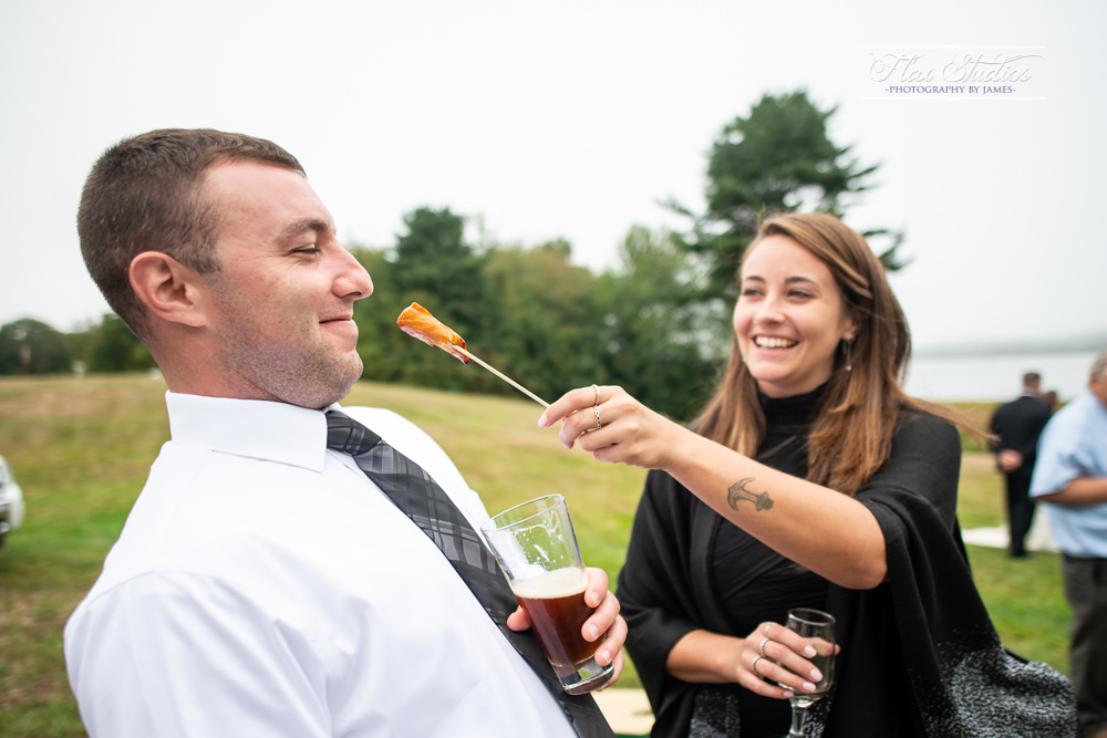 fun candid maine wedding photographers