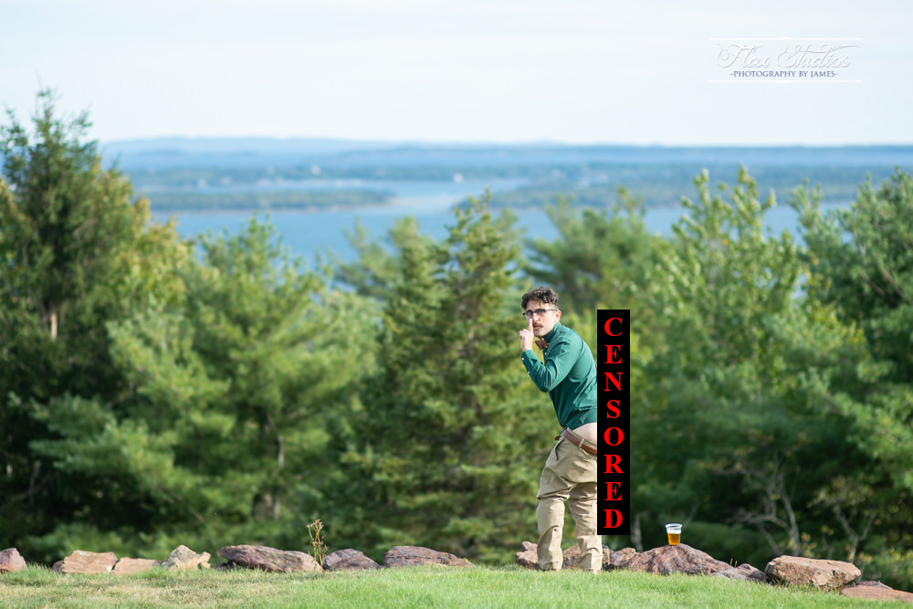 Point Lookout Maine Wedding Photographer