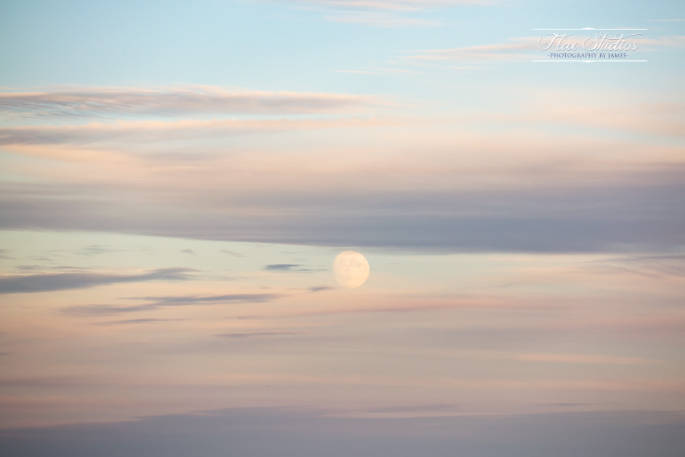 Moonrise in Maine