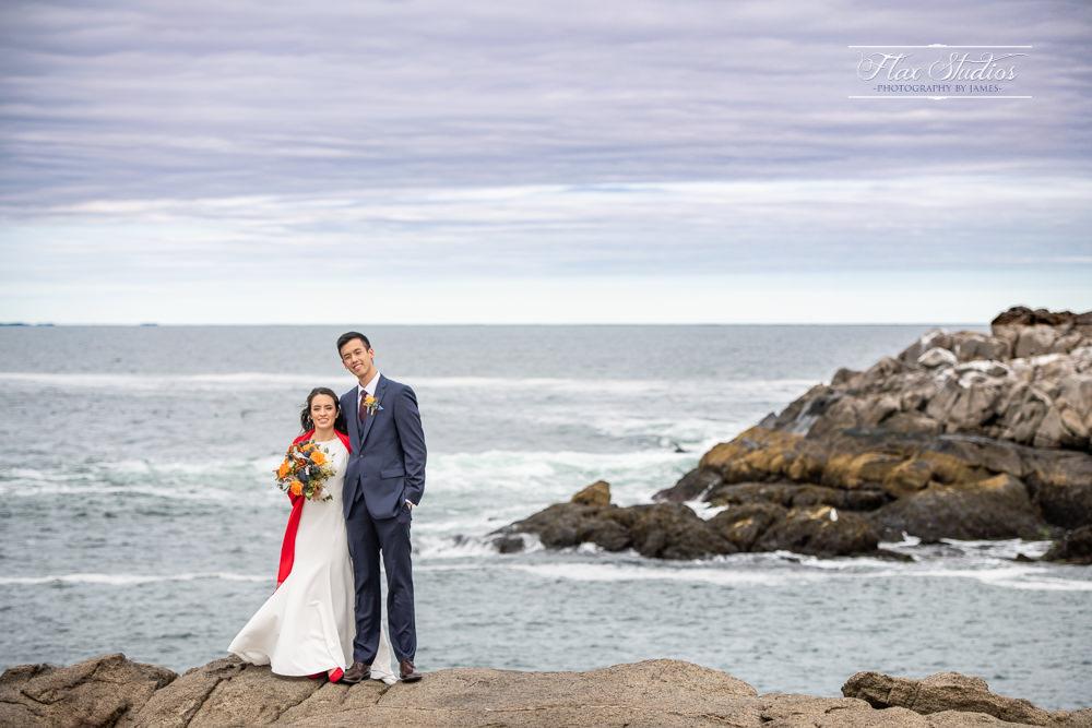 Nubble Lighthouse Wedding Photos