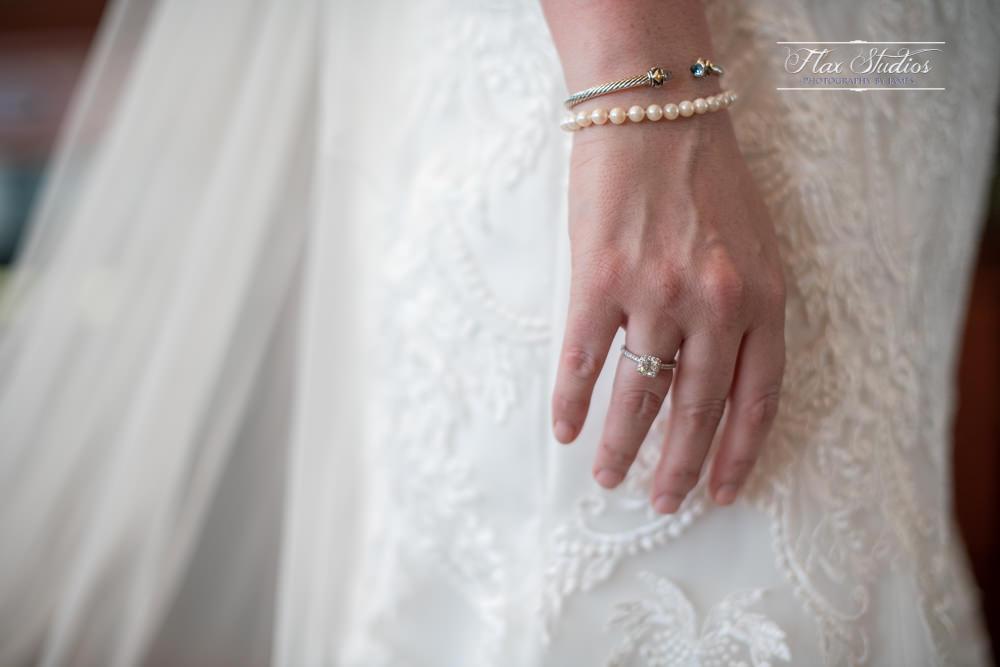 close up wedding details