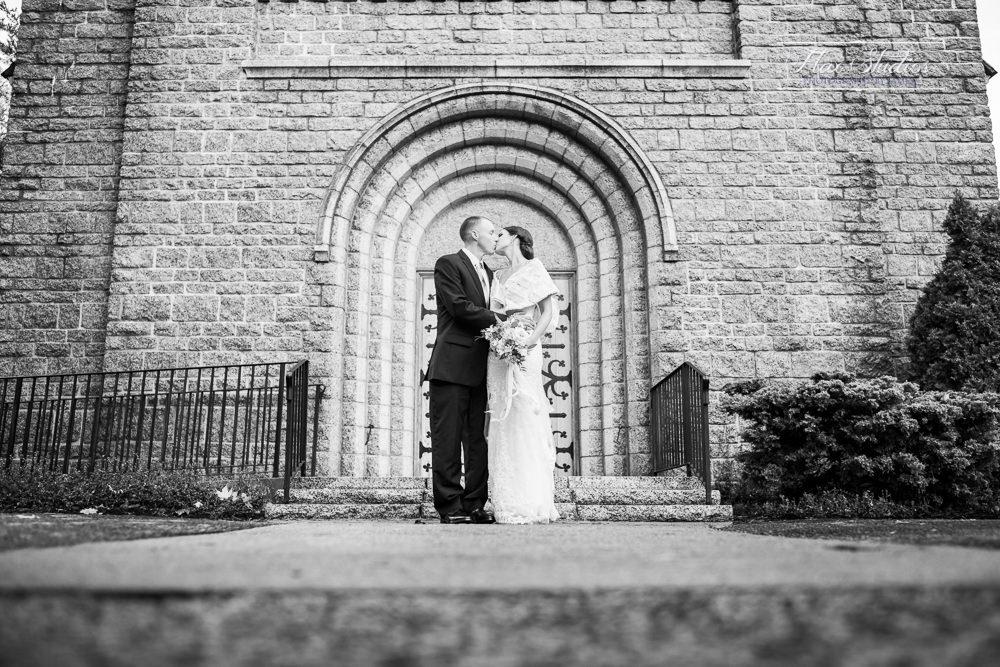classic black and white wedding portraits flax studios