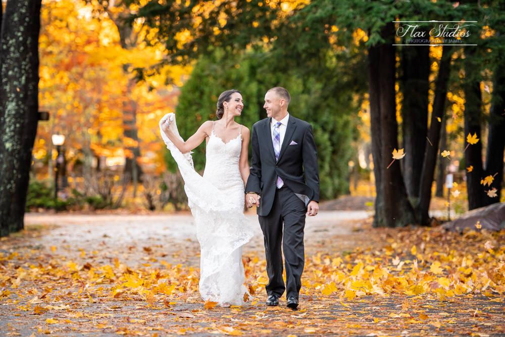 Portland wedding photos in the fall