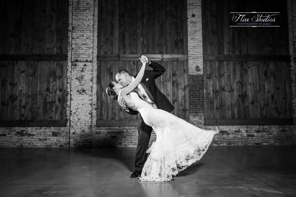 Thompsons Point Wedding Brick South Venue Flax Studios