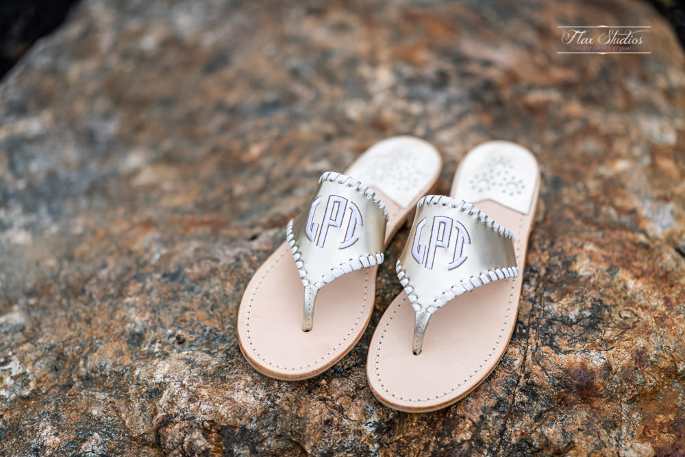 wedding sandals for the bride