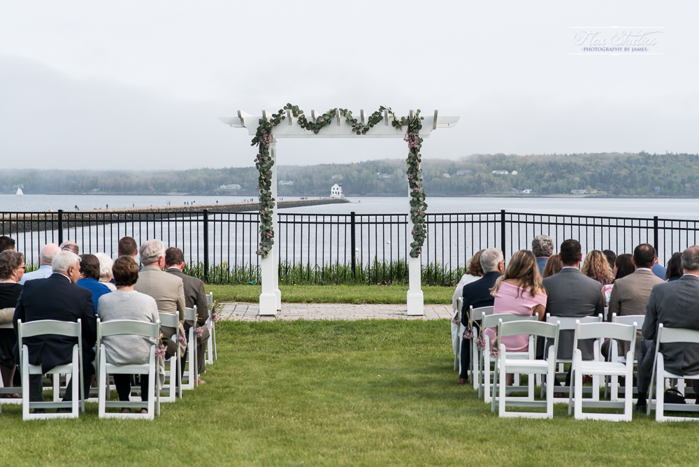 Samoset Resort Wedding On The Ocean