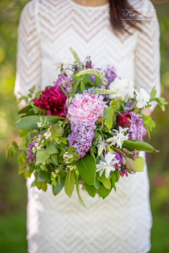 Natural Wedding Flower Bouquet