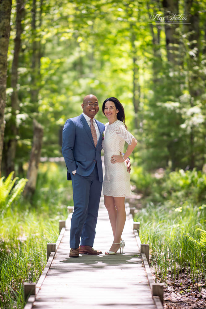 jesup path wedding photos in acadia notional park