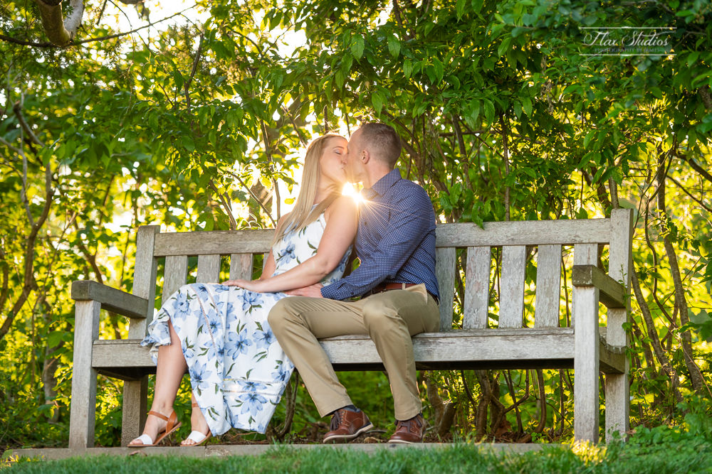 romantic engagement photographers in Maine