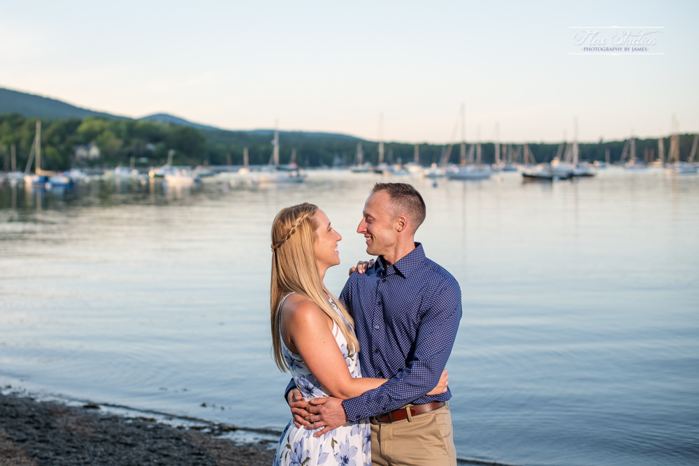 Rockport Harbor Engagement