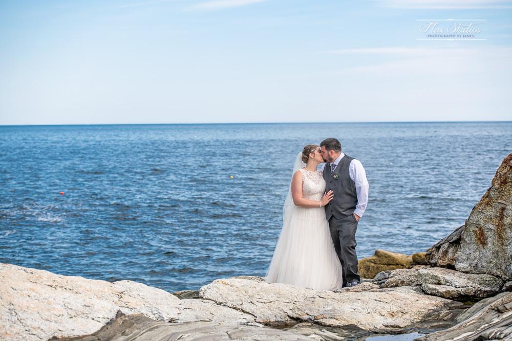 Pemaquid Wedding On The Rocks