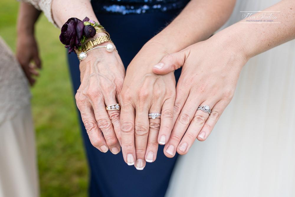 generational wedding ring photo