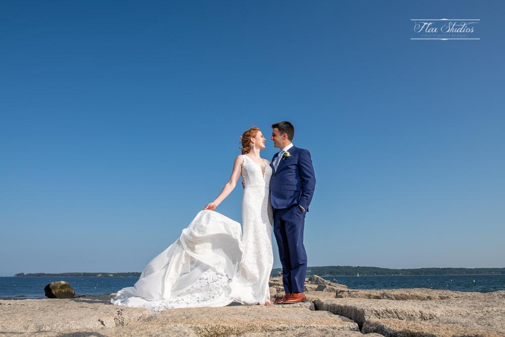 Samoset Rockport Maine Wedding Photographer