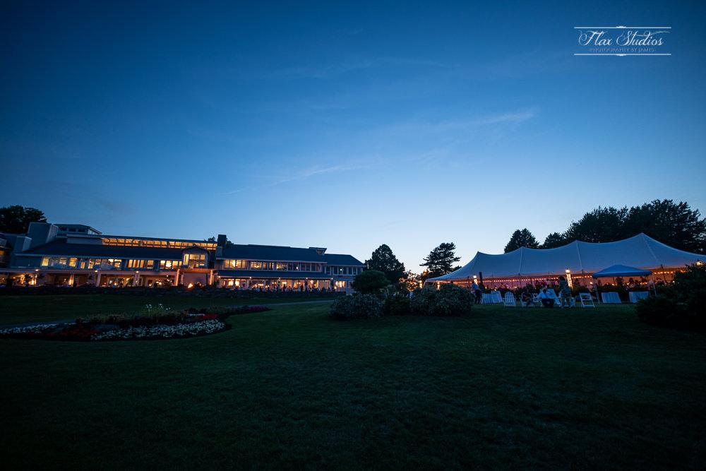 Samoset Resort at Night Rockport Maine
