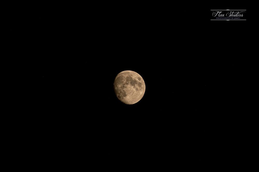 Rockland Maine Moon