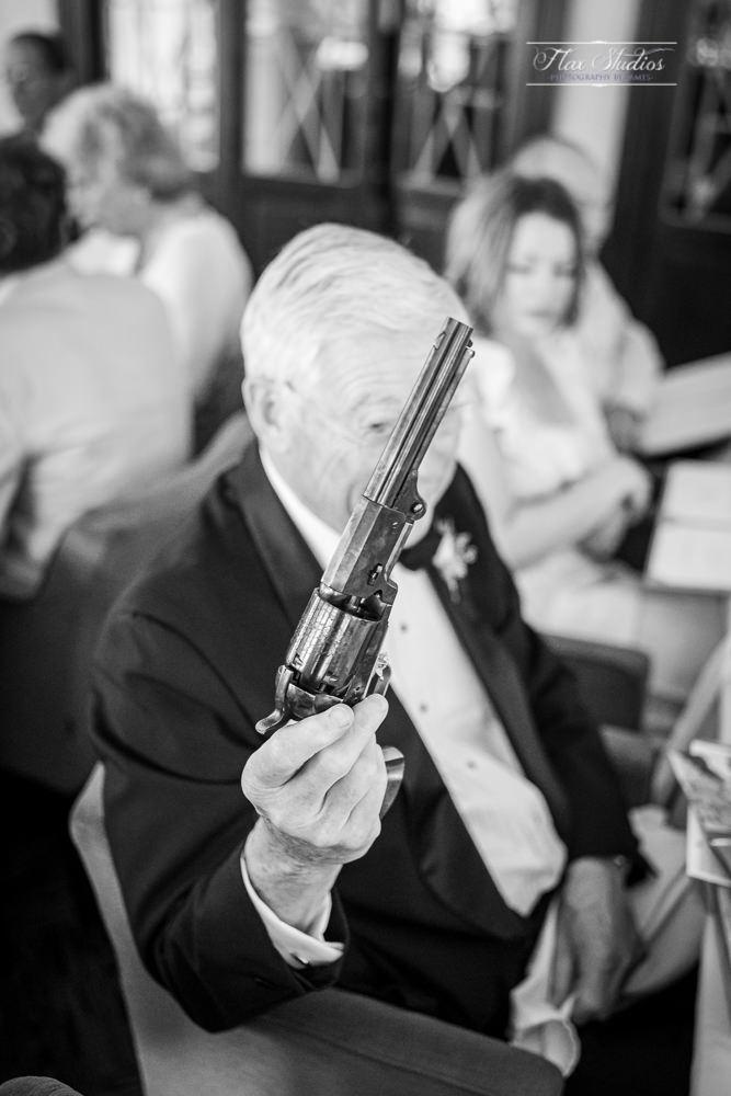 classic revolver pistol