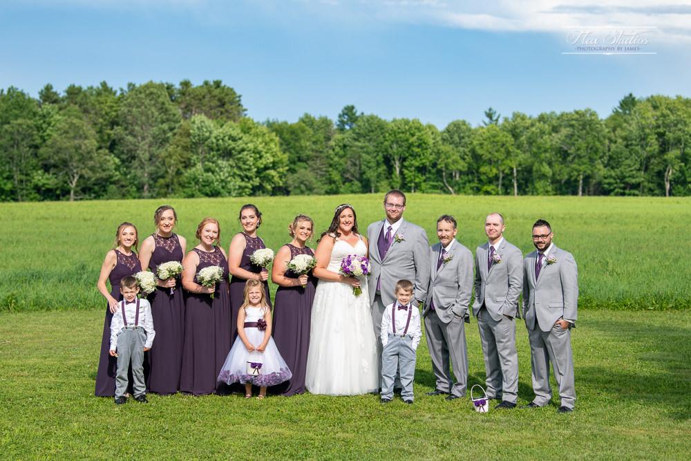 Timber Hitch Farm Wedding Party Photos