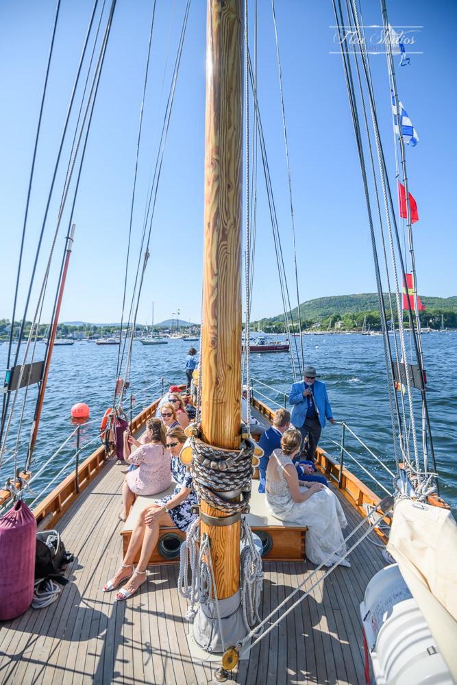 Aboard the Schooner Olad