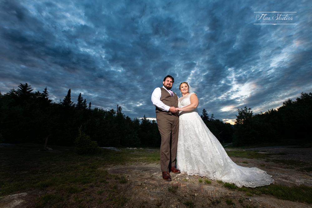 North Peak Lodge Wedding Sunset