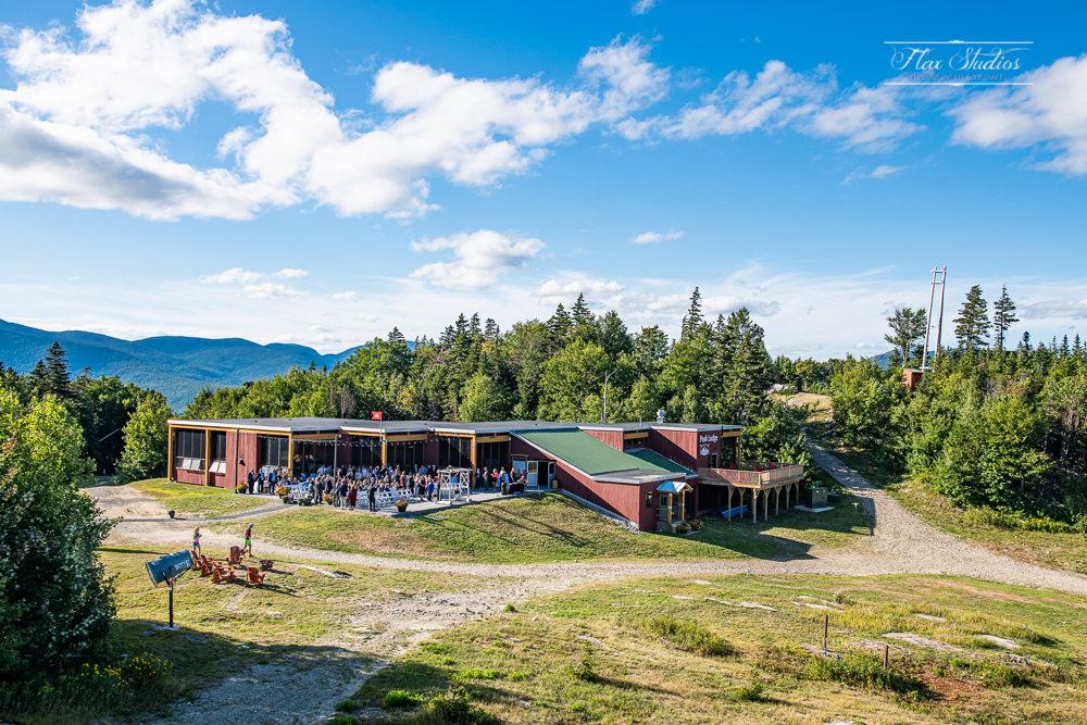 North Peak Lodge Ceremony Site from the Chondola