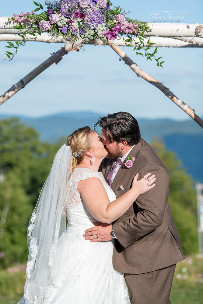first kiss on the mountaintop