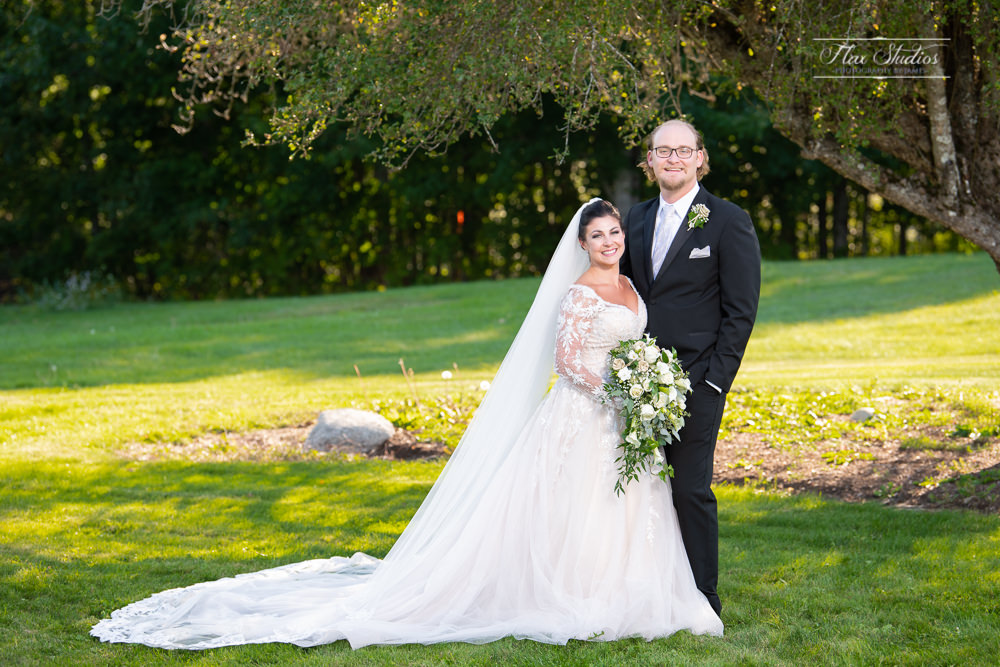 bride and groom portraits at the Lucerne Inn Wedding