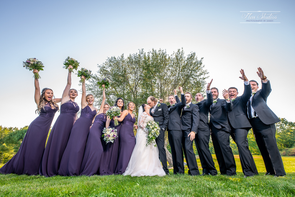 full bridal party photo