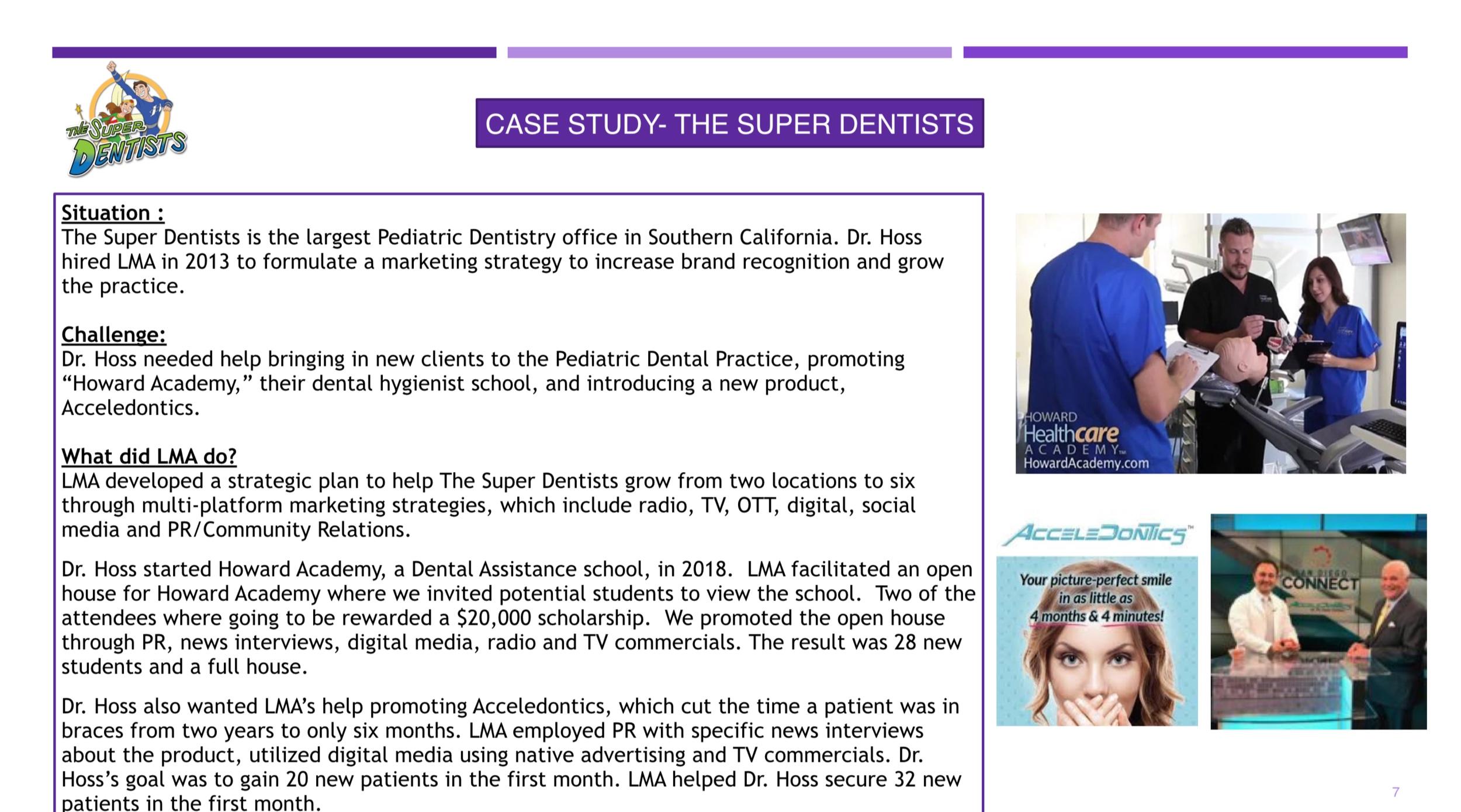 Case Studies — LMA Marketing + Advertising