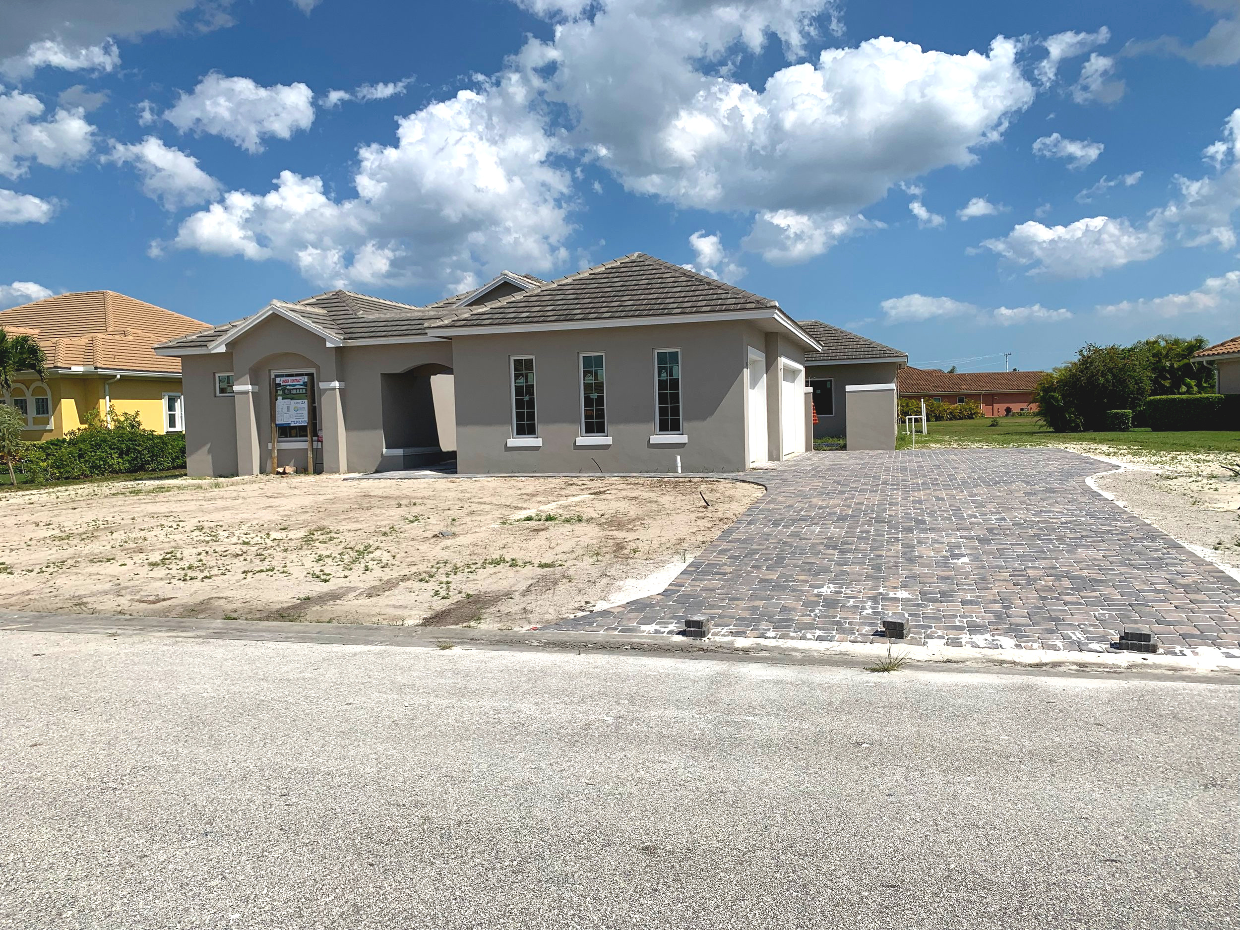 3-D Rendering. Home is Under Construction.