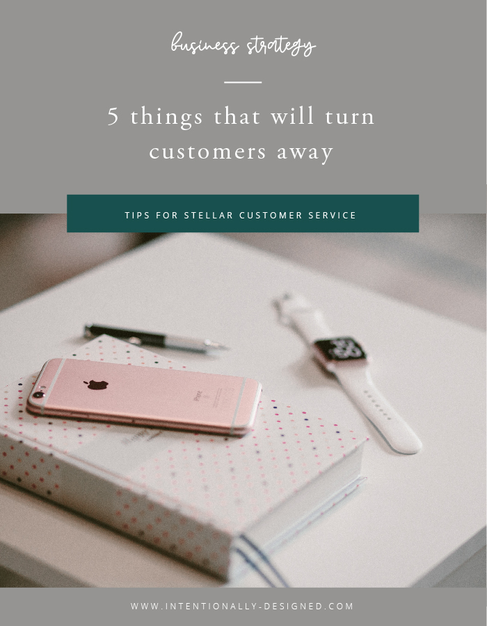 customer services business strategy