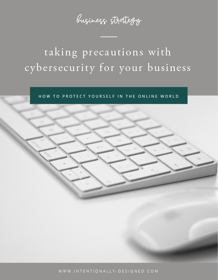 cybersecurity precautions