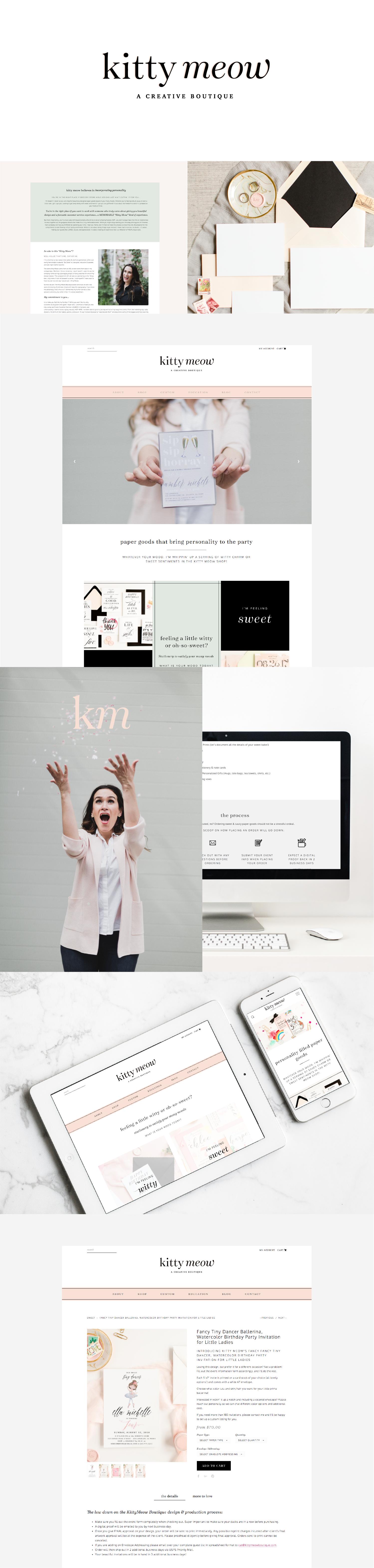 Website and Commerce Design + Development