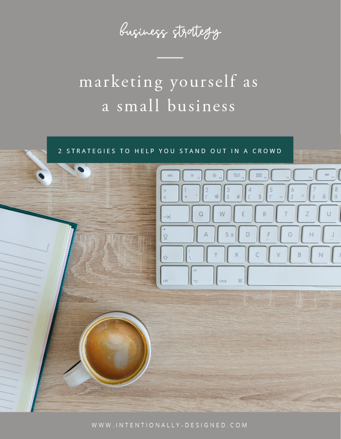 marketing yourself as small business