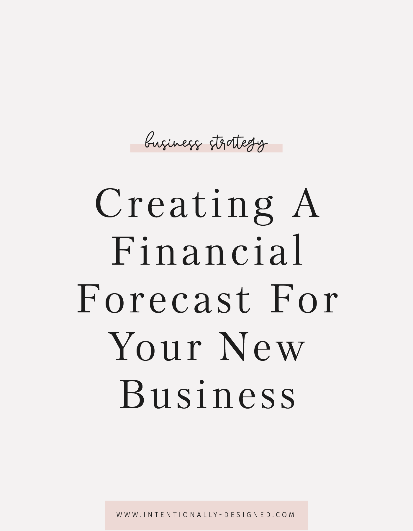 Creating A Financial Forecast For Your New Business