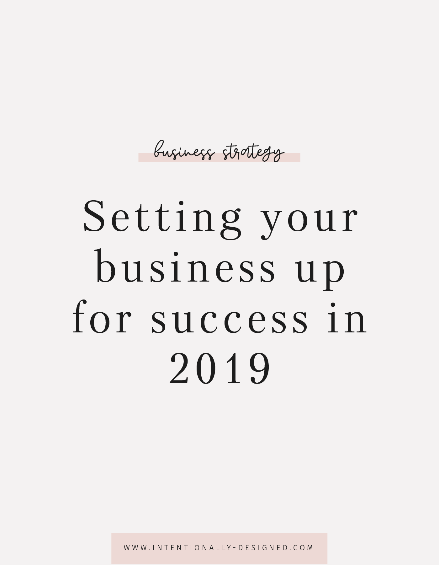 Setting your business up for success in 2019