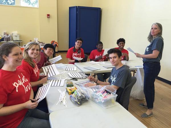 Mac Stewart and his gang of GSU volunteers