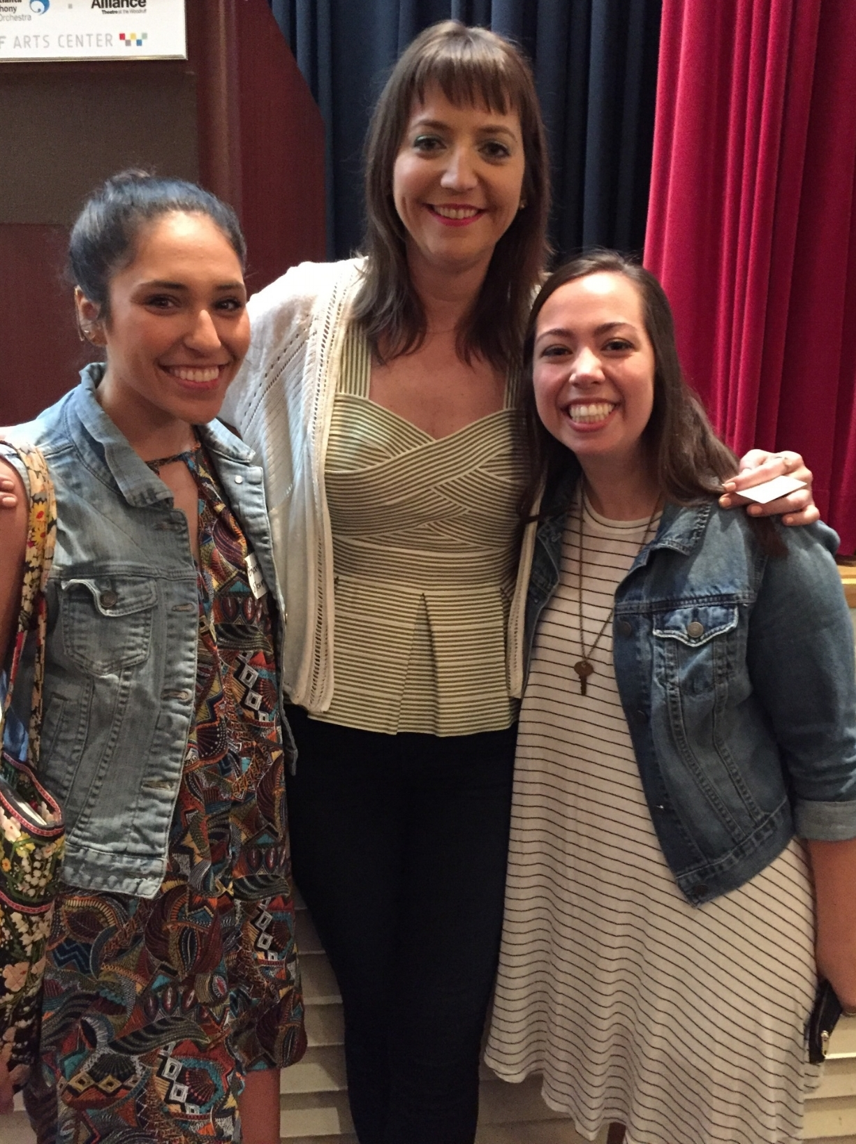 Our intern, Bianca & Community engagement coordinator, Lauren got to meet founder of Kate's Club, Kate Atwood at Creative Mornings in May!