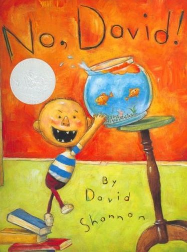 "- "" A few years ago, my mother sent me a book I made when I was a little boy. It was called No David, and it was illustrated with drawings of david doing all sorts of things he wasn't supposed to do. The text consisted entirely of the words ""no"" and ""David."" (They were the only words I knew how to spell.) I thought it would be fun to do a remake celebrating those familiar variations of the universal ""no"" that we hear while growing up.Of course ""yes"" is a wonderful word...but ""yes"" doesn't keep crayon off the living room wall."""