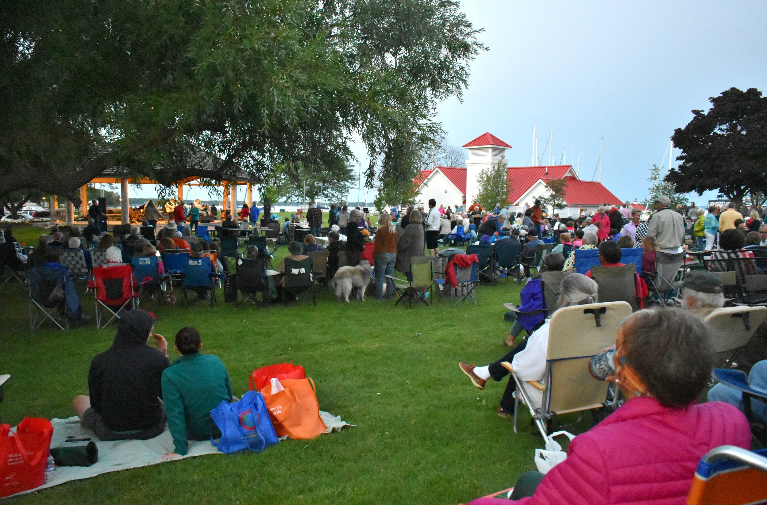 Music in the Park, photograph by Cheryl Parker