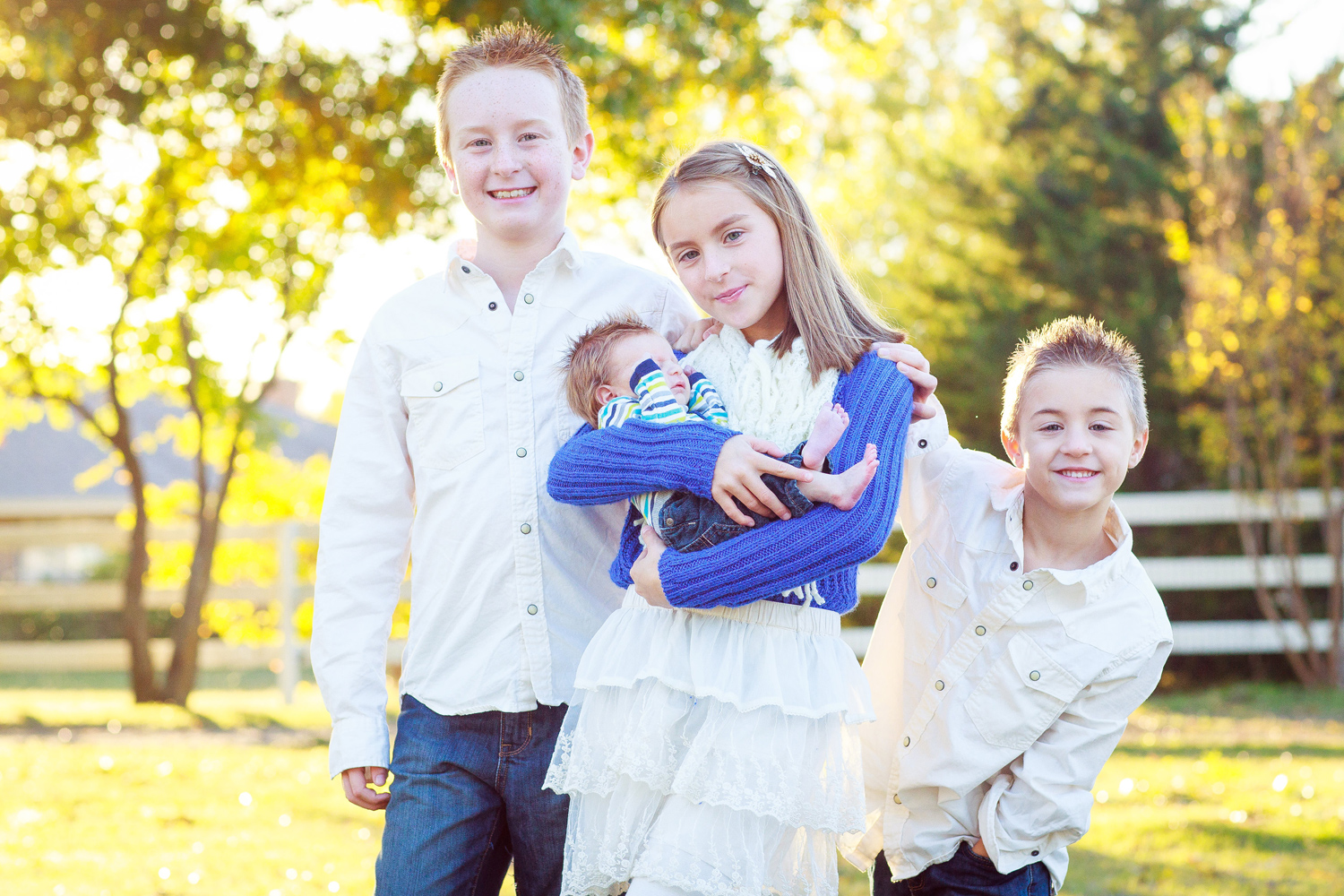 Texas Family Portraits Photography