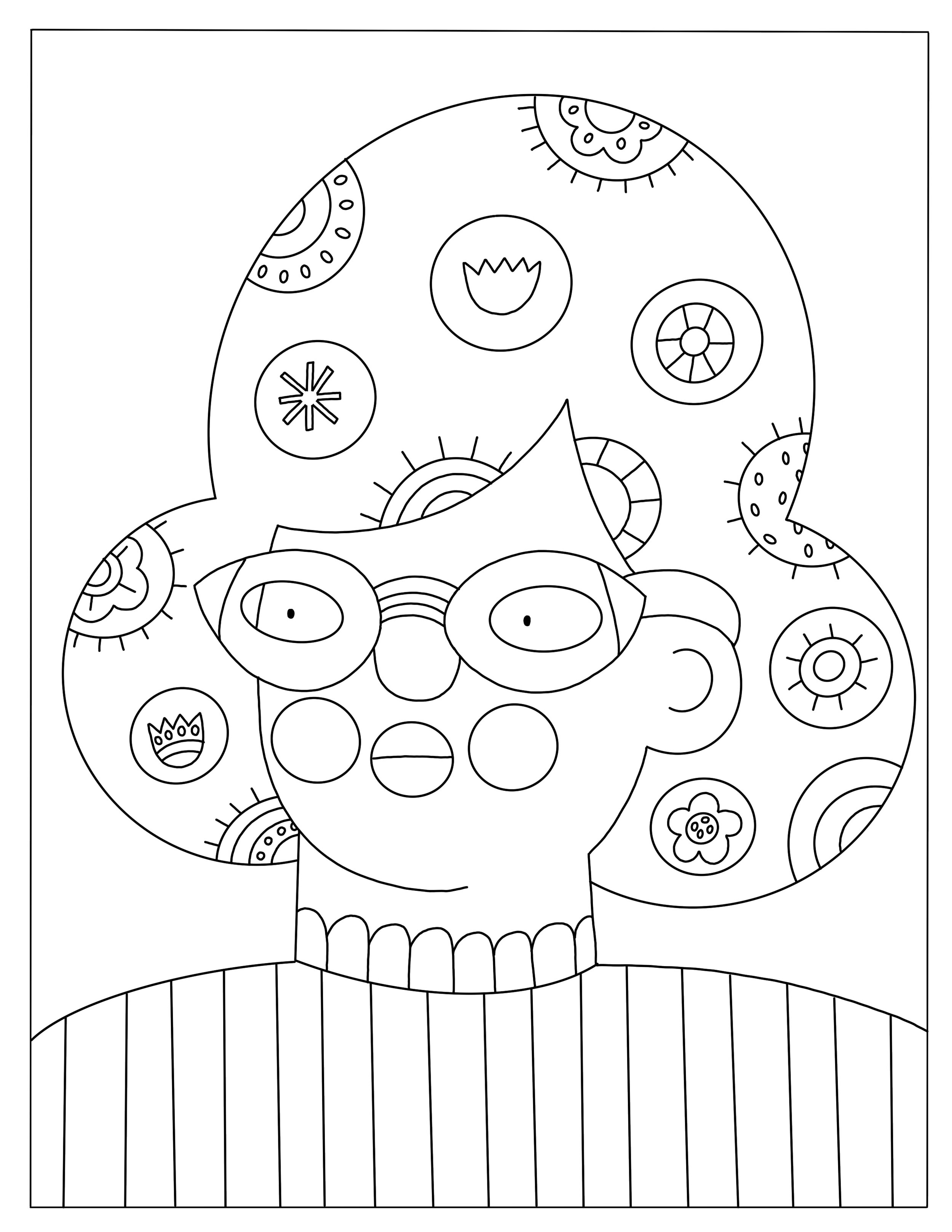 Coloring Pages Molly Egan Illustration