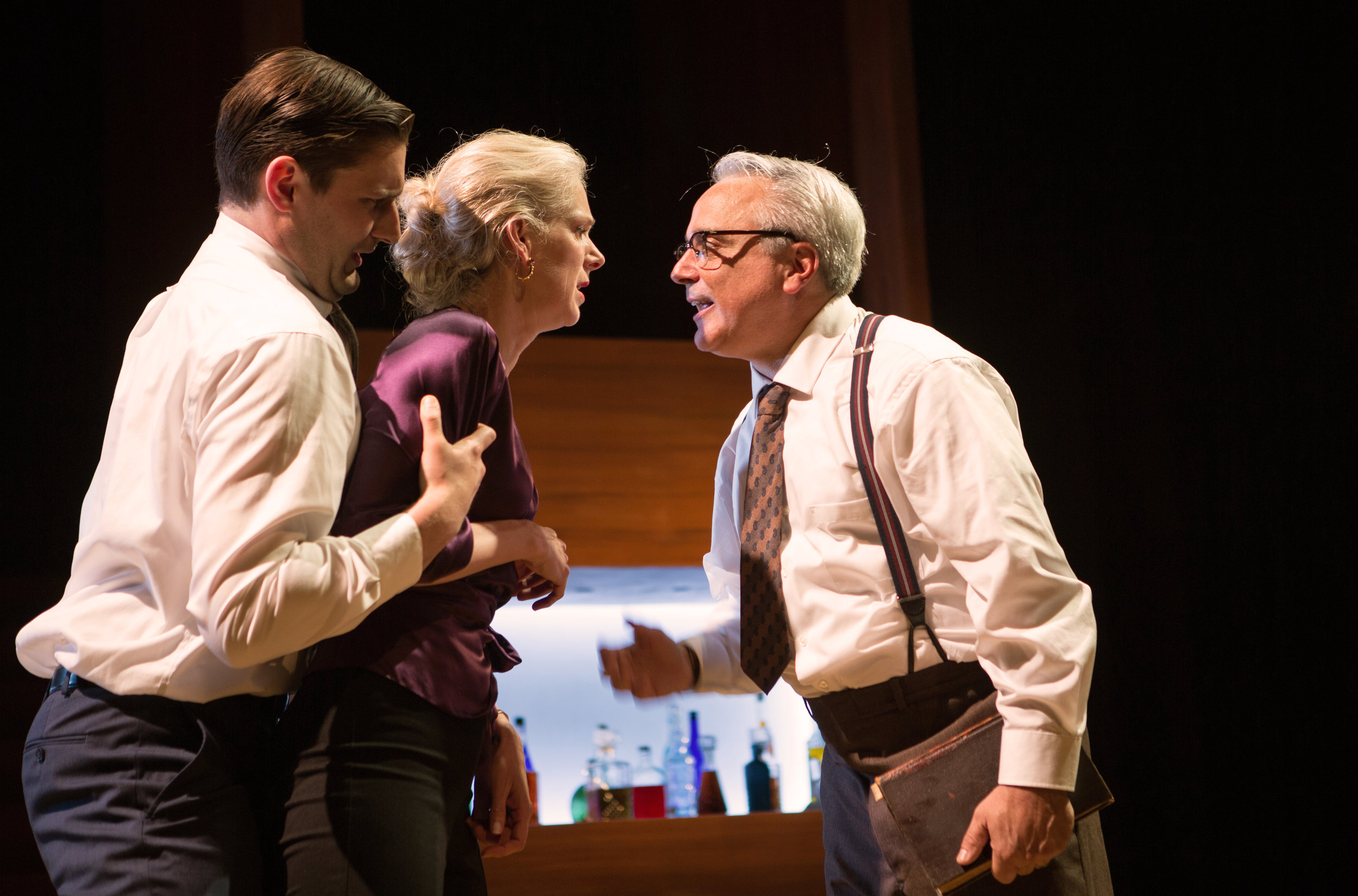 """""""Frightening...Shotgun Players shows that Albee's ideas are very much alive — potently, unnervingly so.""""     SAN FRANCISCO CHRONICLE"""