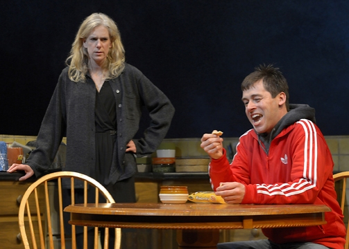 """An explosive, funny play... The four actors under the direction of Mark Jackson deliver the language so compellingly... Jackson's staging allows the characters to develop without overdramatizing... A stunning play in a stunning production.""     MILL VALLEY PATCH"