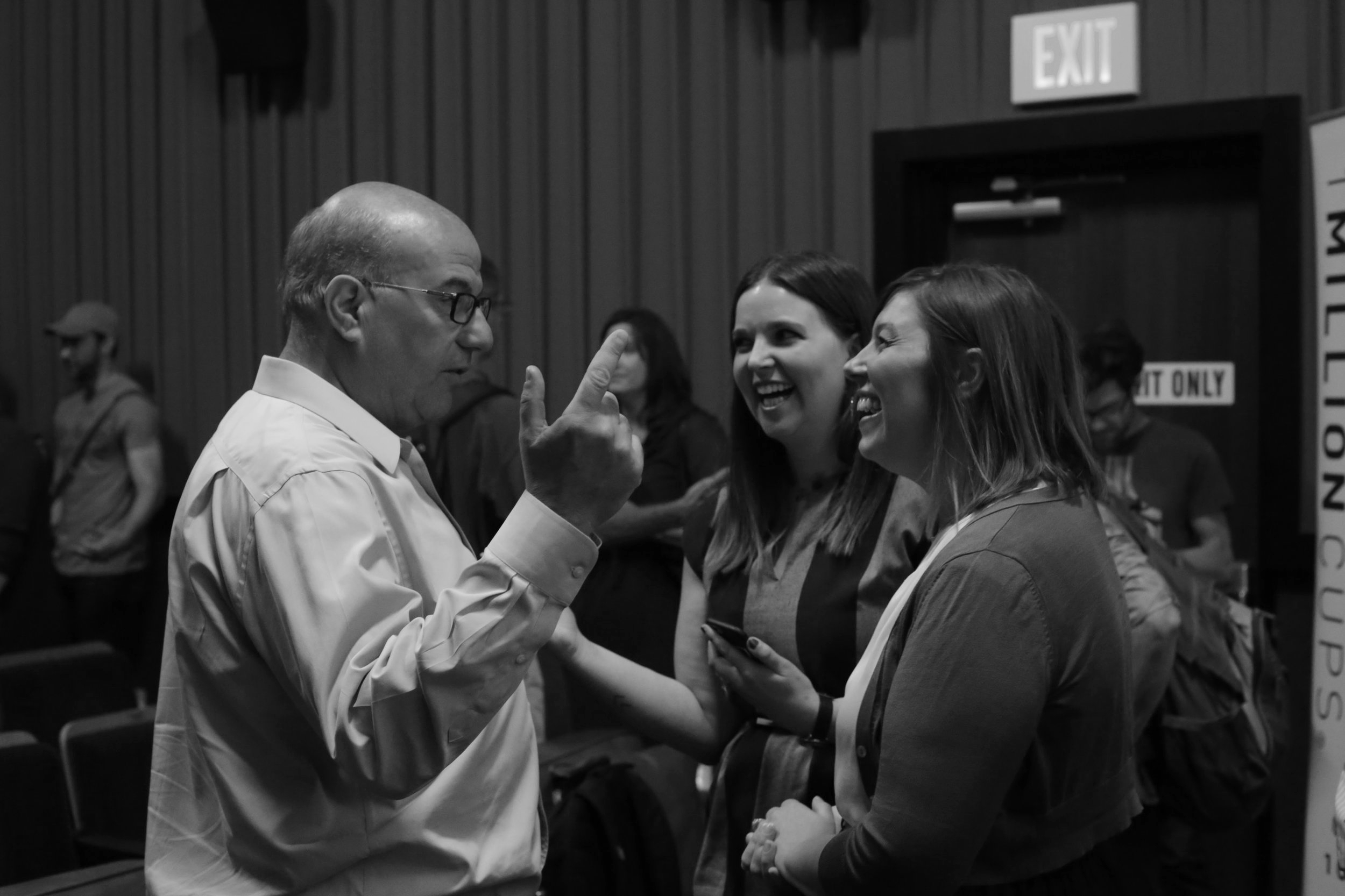 Chatting with our Idea Champion Jeff Hoffman! Photo by  NewBoCo