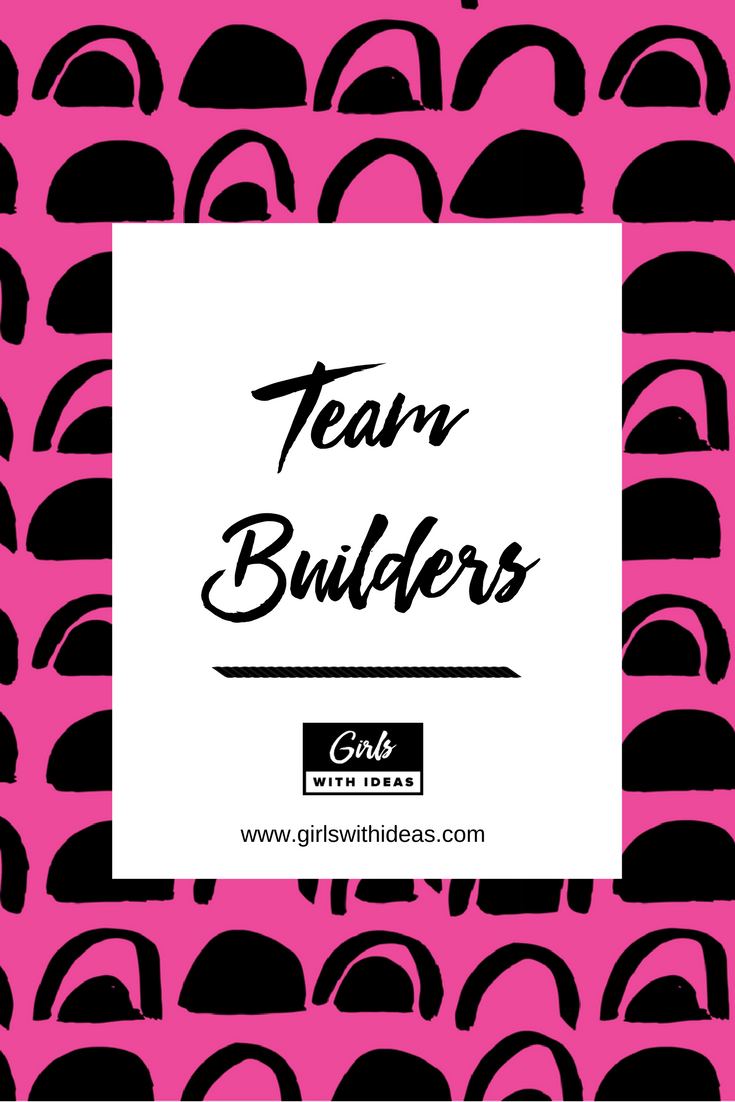 Download a free guide on team builder ideas.
