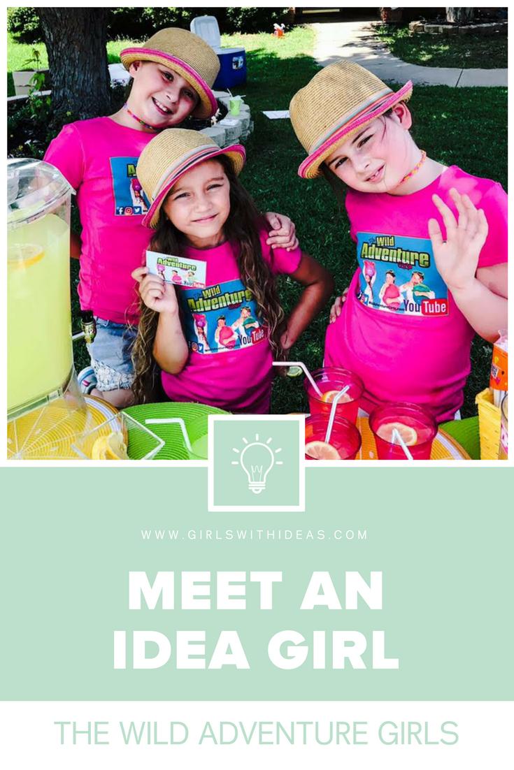 Meet an Idea Girl: The Wild Adventure Girls