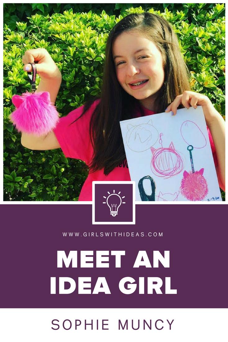 Meet an Idea Girl: Sophie Muncy from  www.girls  withideas.com