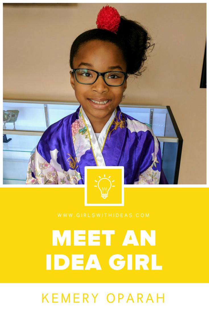 Meet an Idea Girl: Kemery Oparah from   www  .  gi    rlswithideas  .  com
