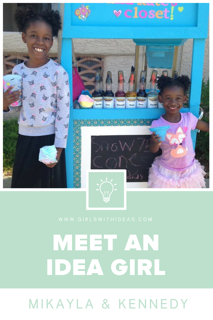Meet an Idea Girl: Mikayla & Kennedy Pelt from   www  .  girls    withideas  .  com